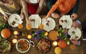 Thanksgiving dinner, budget